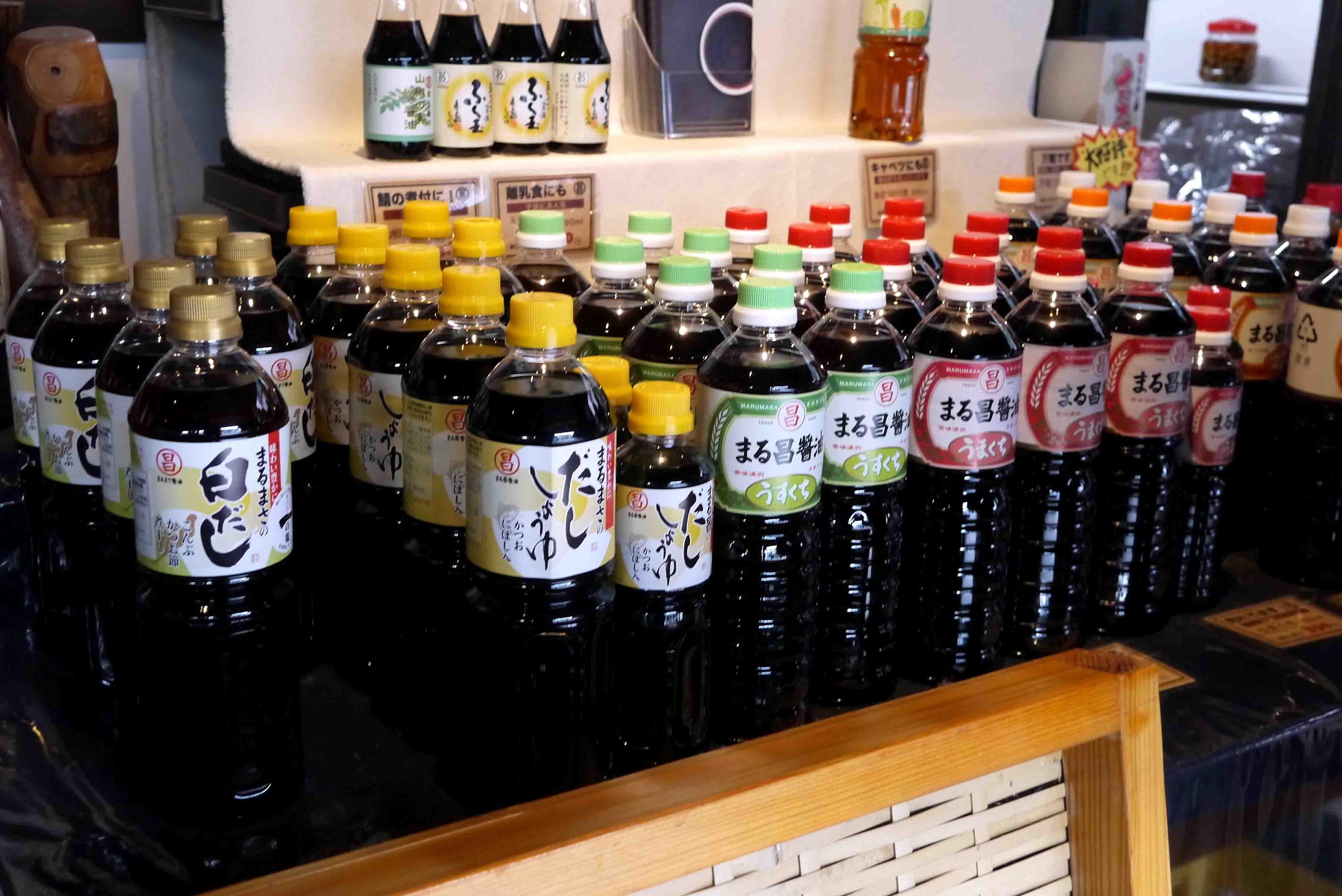 まる昌醤油 商品