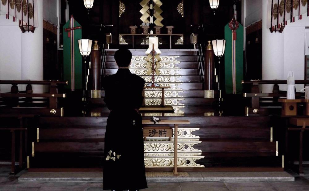 福岡縣護国神社 奉納揮毫
