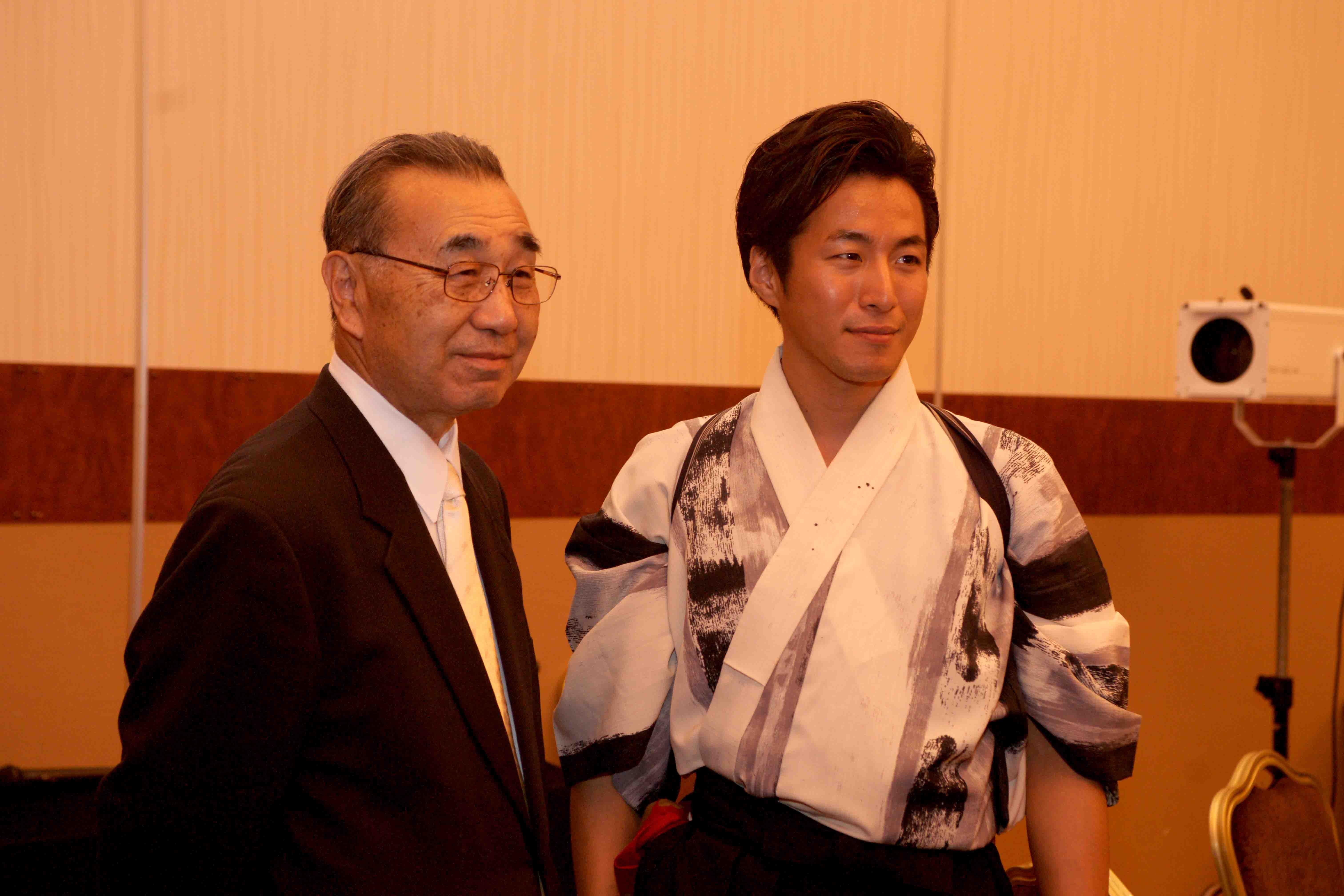 太宰府にお住まいの福岡の会長