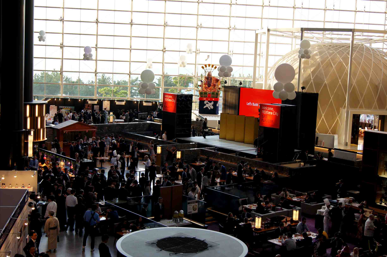G20 ヒルトン 会場 ステージ
