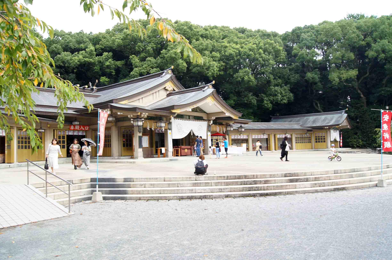 福岡縣護国神社 本殿
